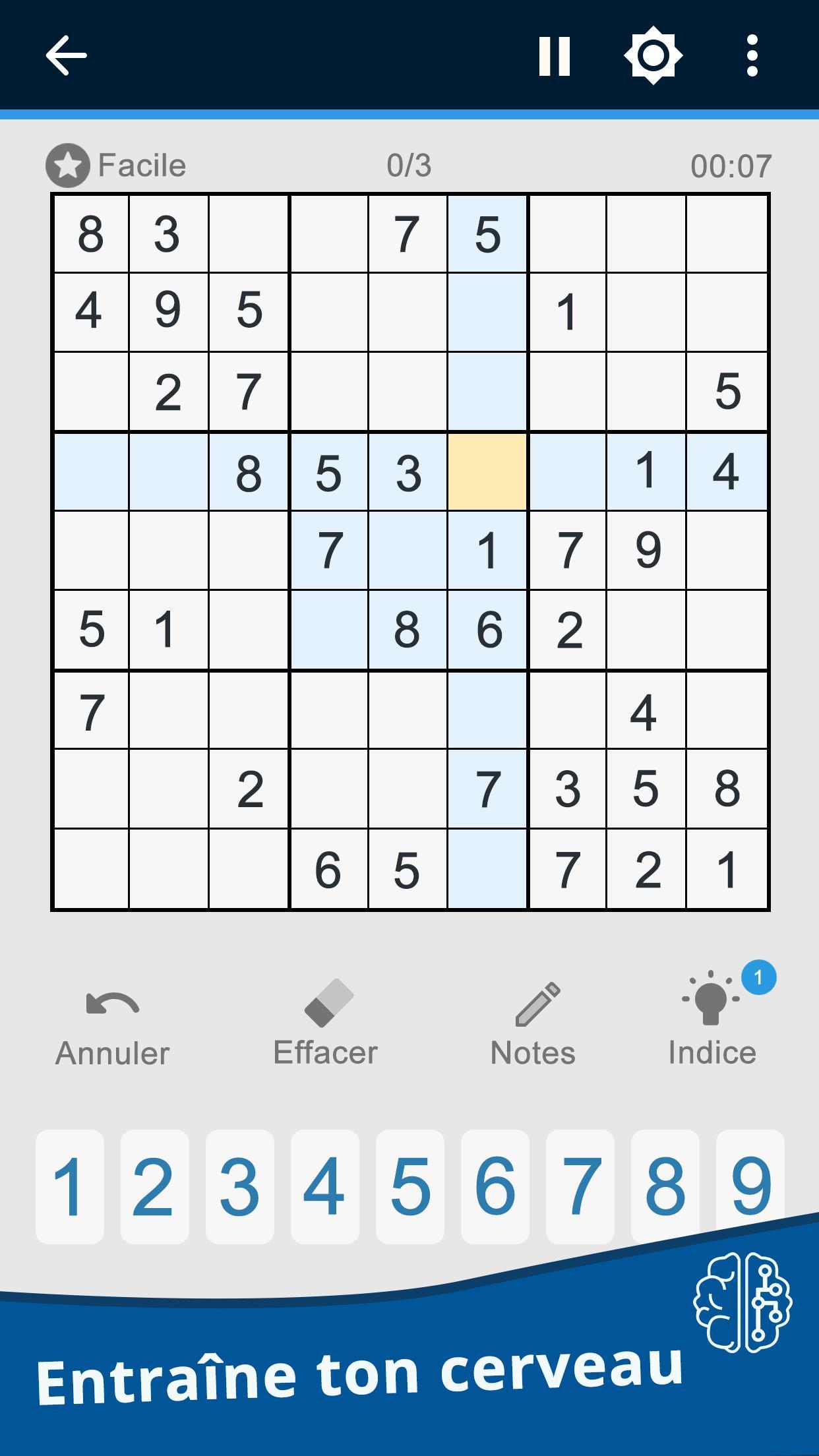 Le Sudoku Est Un Jeu D'énigmes Japonais Pour Android serapportantà Jeu Le Sudoku