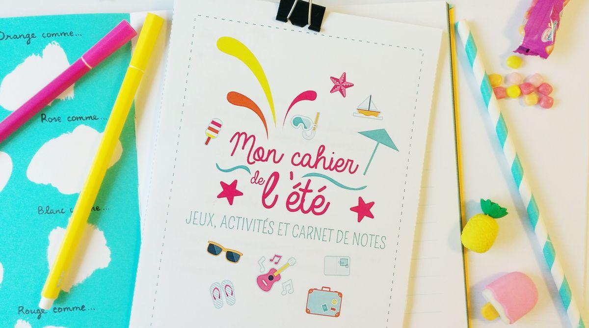 Le Super Cahier Vacances Pour Enfants À Imprimer ! | Cahier avec Cahier De Vacances Maternelle Gratuit A Imprimer