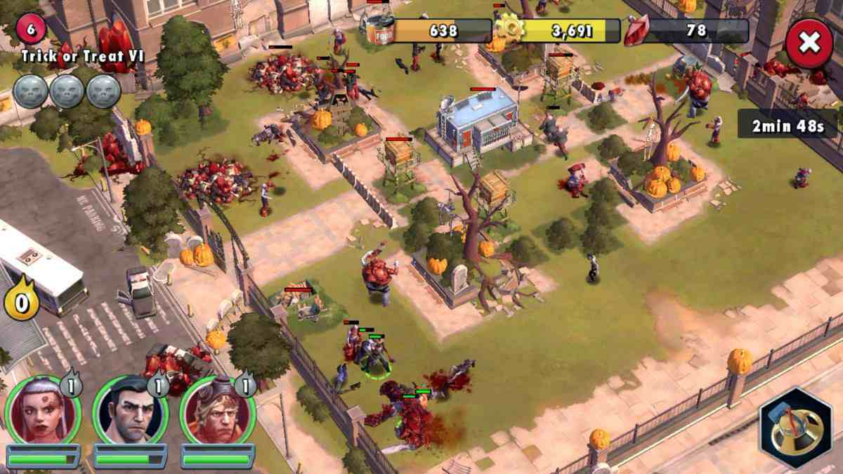 Le Top Des Jeux De Survie Sur Android intérieur Jeux De Squelette Gratuit