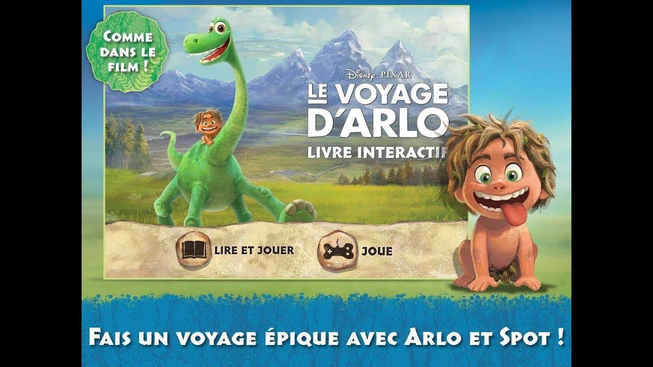 Le Voyage D'arlo Livre Et Jeu Interactif - Le Bon Dinosaure - Jeux Disney  En Français Pour Enfants tout Jeu Interactif Enfant
