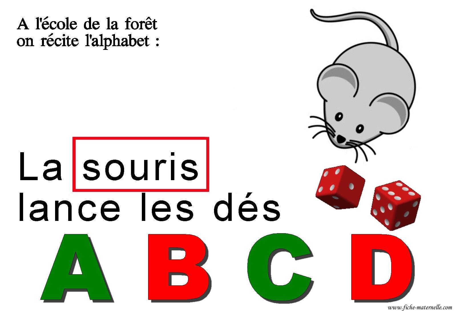 L'école De La Forêt : Comptine Alphabetique Pour Apprendre À serapportantà J Apprend L Alphabet Maternelle