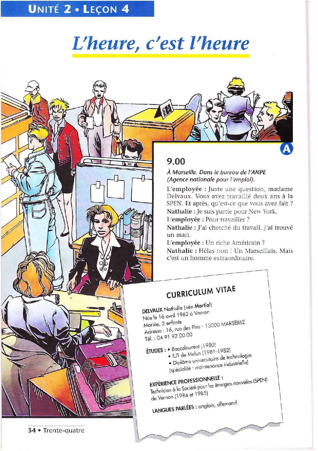Leçon 4 Panorama-Page-001 | Independent People avec Un Mot Pour Quatre Images