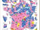 Législatives : Une Carte De France Coupée En Deux avec Carte De France Grand Format