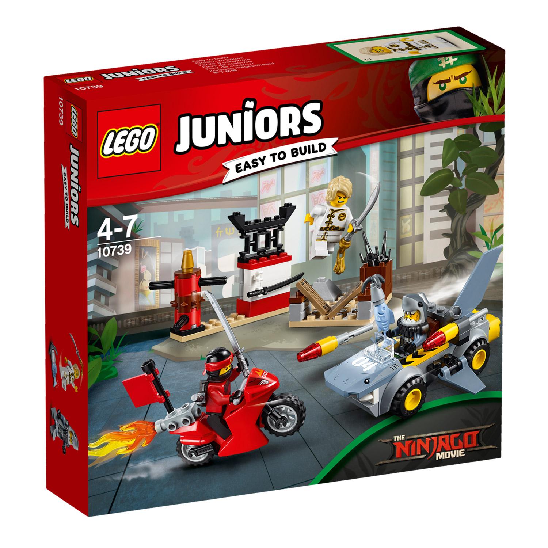 Lego® 10739 Junior™ : The Ninjago Movie™ : L'attaque Du Requin concernant Voiture Requin Jouet