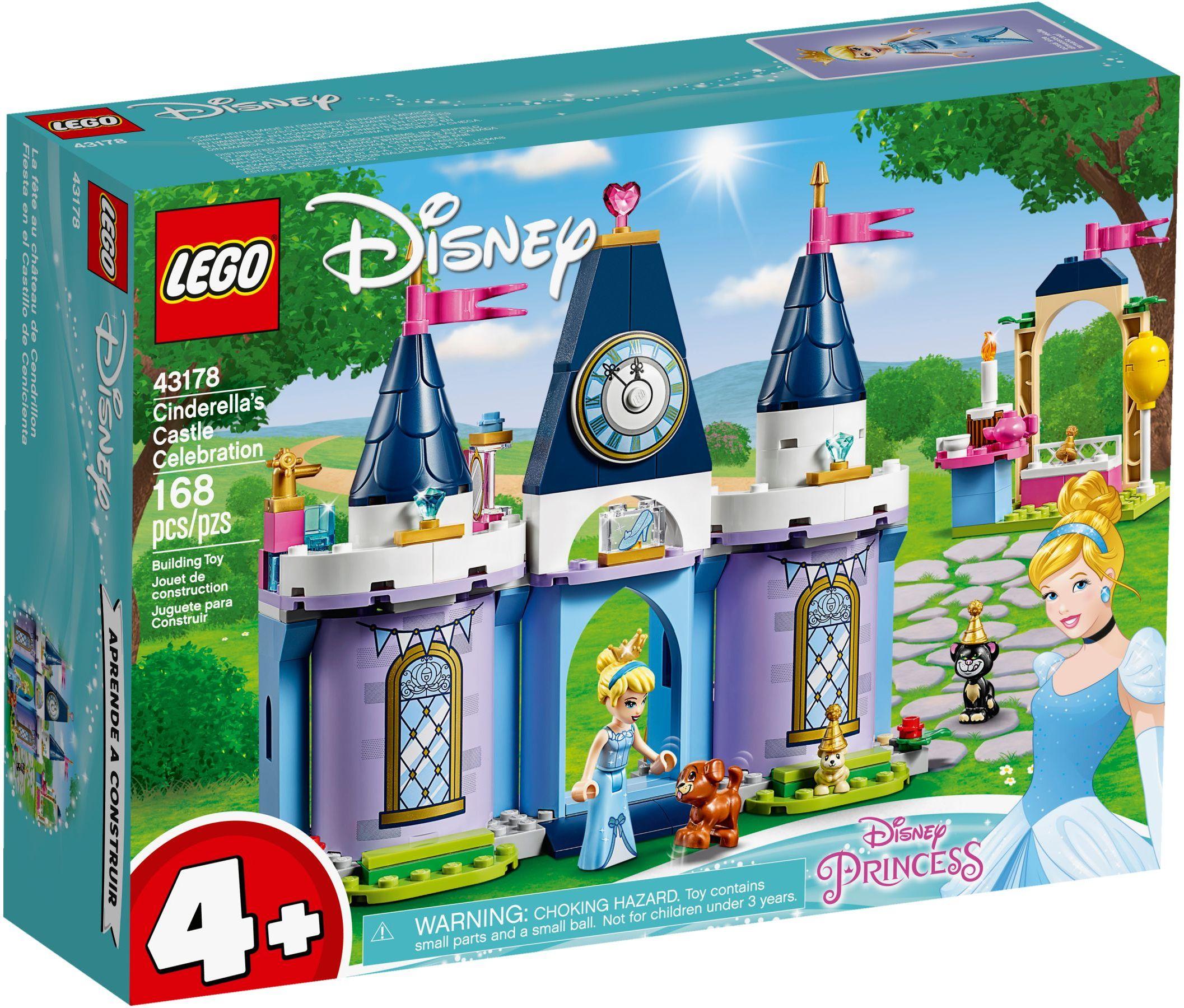 Lego 43178 Disney Sindirellanın Şato Kutlaması pour Cendrillon 3 Disney