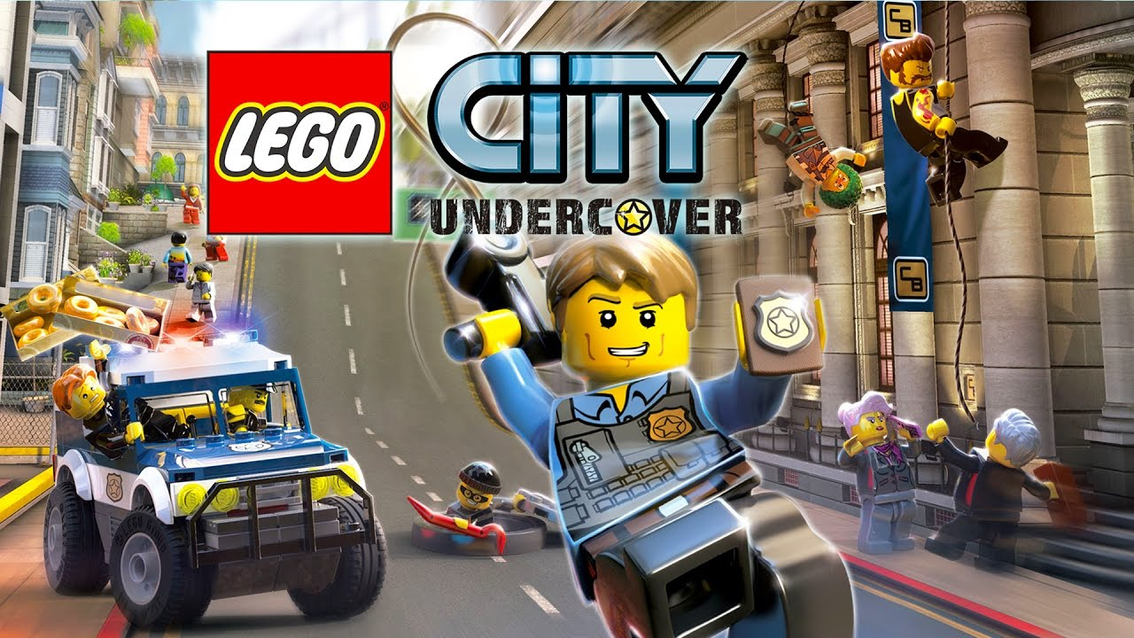 Lego City Undercover En Français - Jeux Vidéo De Dessin Animé Pour Enfants  - Partie 1 avec Jeux Video 5 Ans