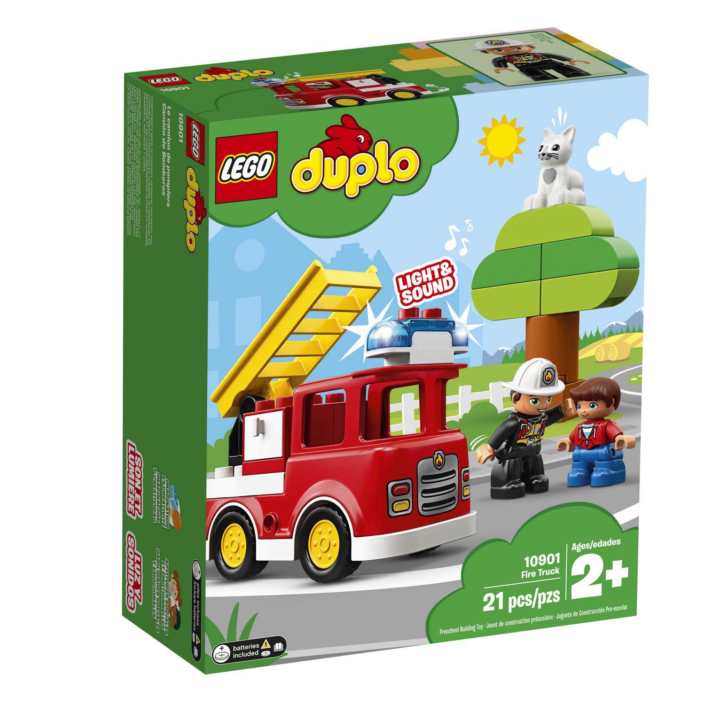 Lego Duplo Town Le Camion De Pompiers 10901 concernant Jeux De Camion De Pompier Gratuit