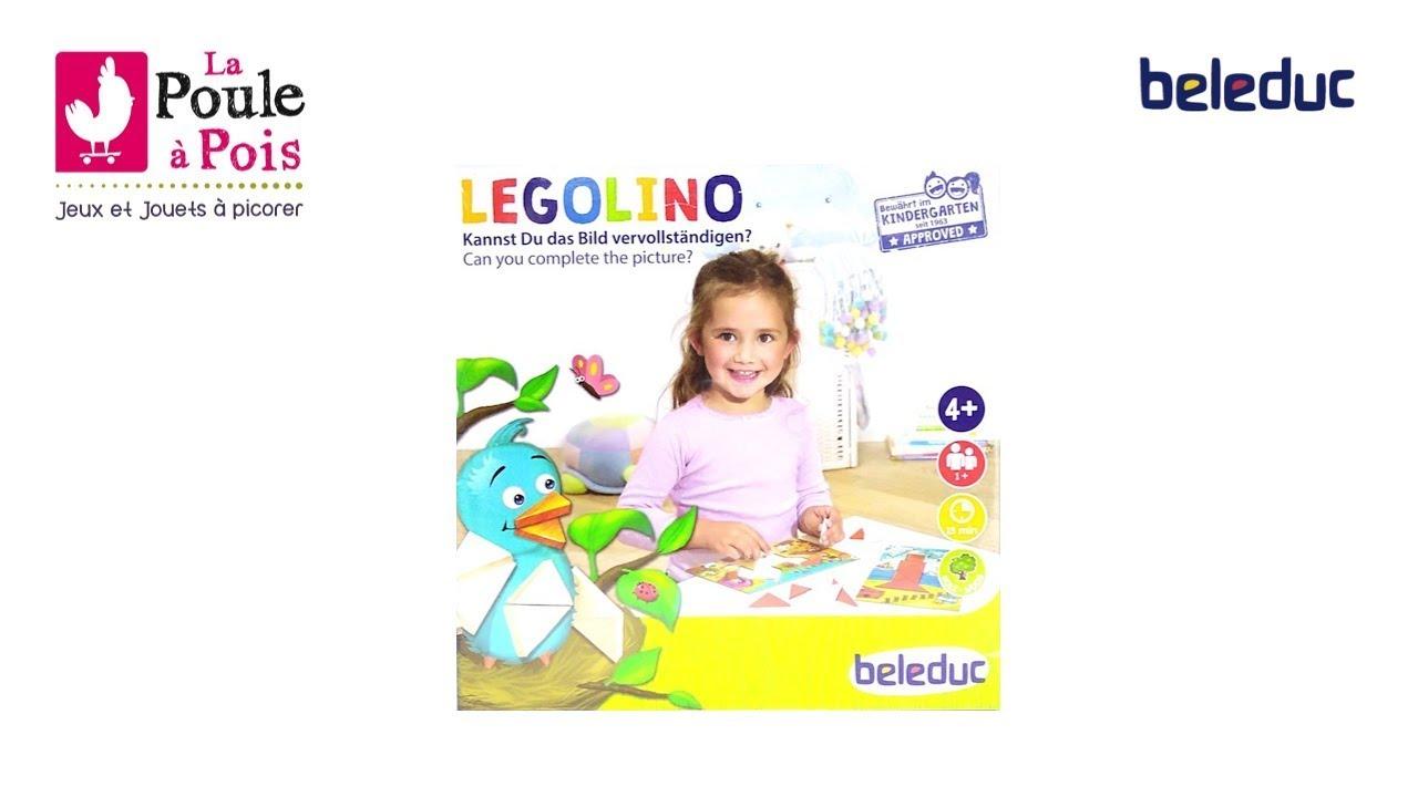 Legolino - Jeu Éducatif Pour Les Enfants - Tangram - Beleduc -  Lapouleapois.fr destiné Tangram Enfant