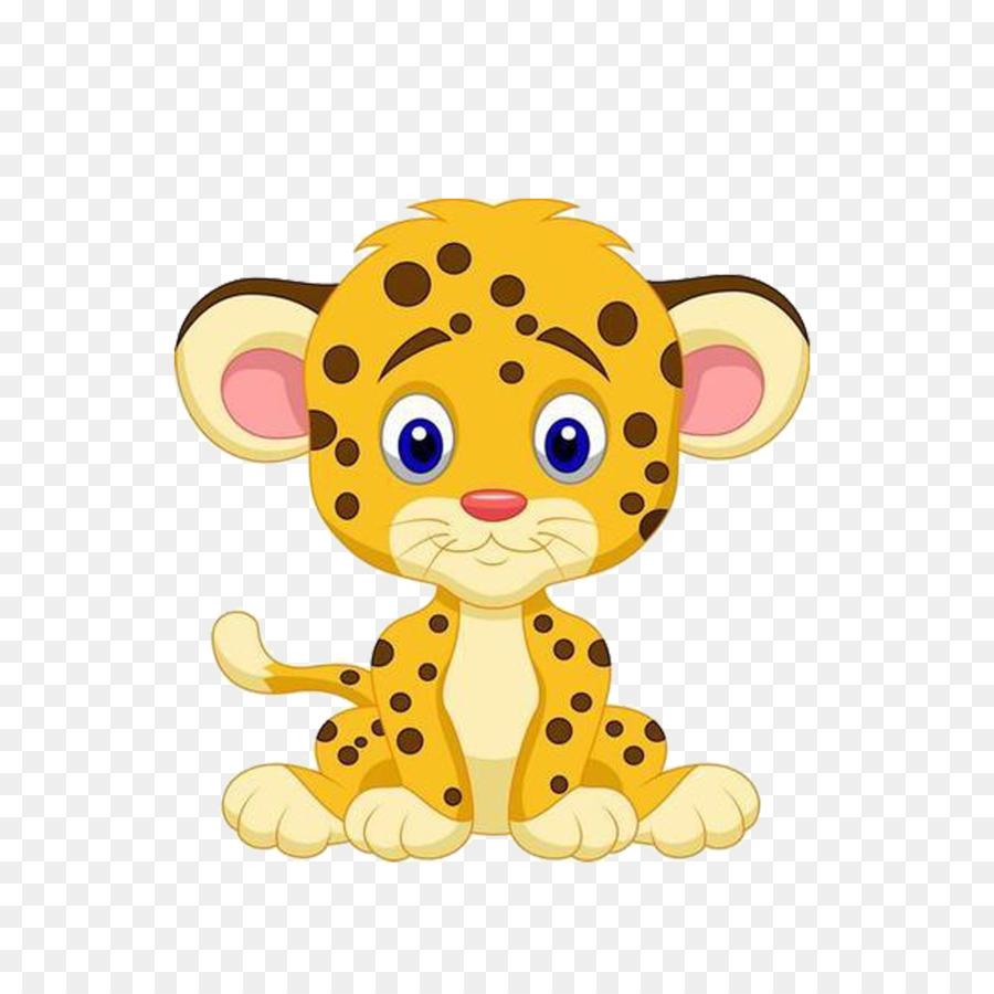 Leopard, Le Guépard, Dessin Animé Png - Leopard, Le Guépard tout Guépard Dessin