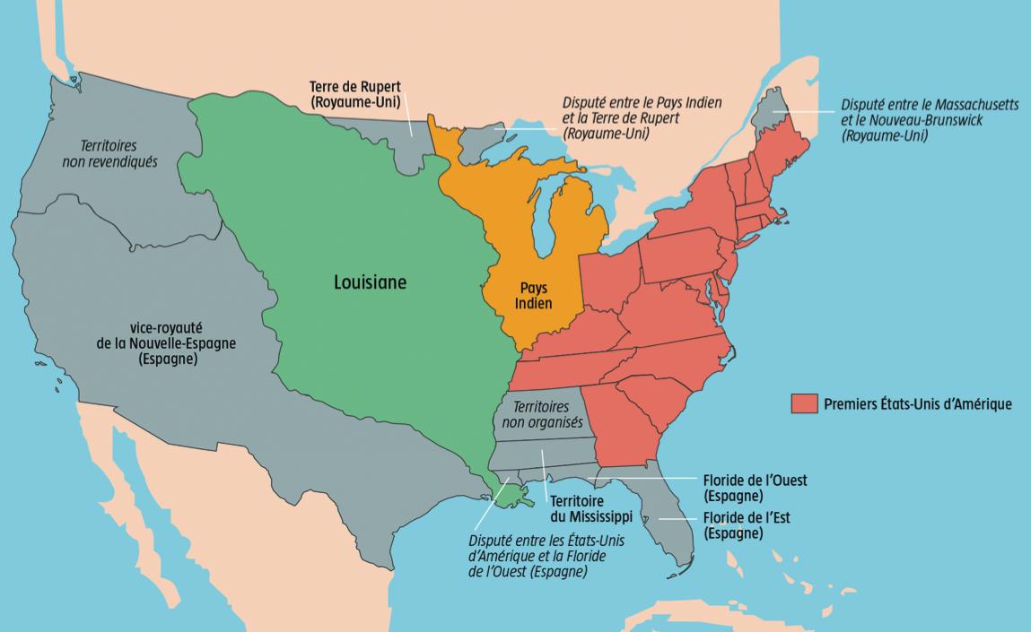 Les 10 Évènements Qui Ont Façonné L'histoire Des Etats-Unis à Carte Etat Amerique