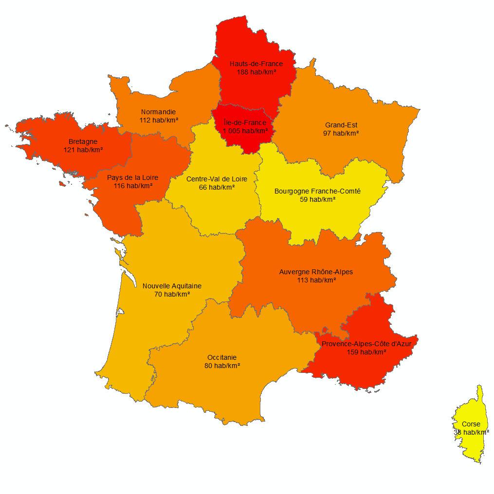 Les 13 Nouvelles Régions Françaises - Paloo Blog à Carte De France Avec Les Régions