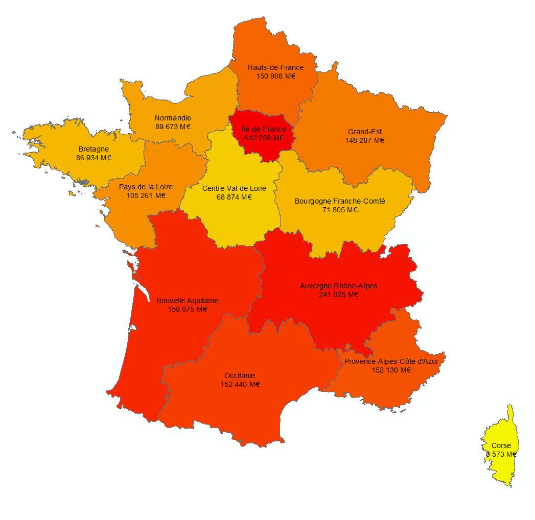 Les 13 Nouvelles Régions Françaises - Paloo Blog avec Anciennes Régions