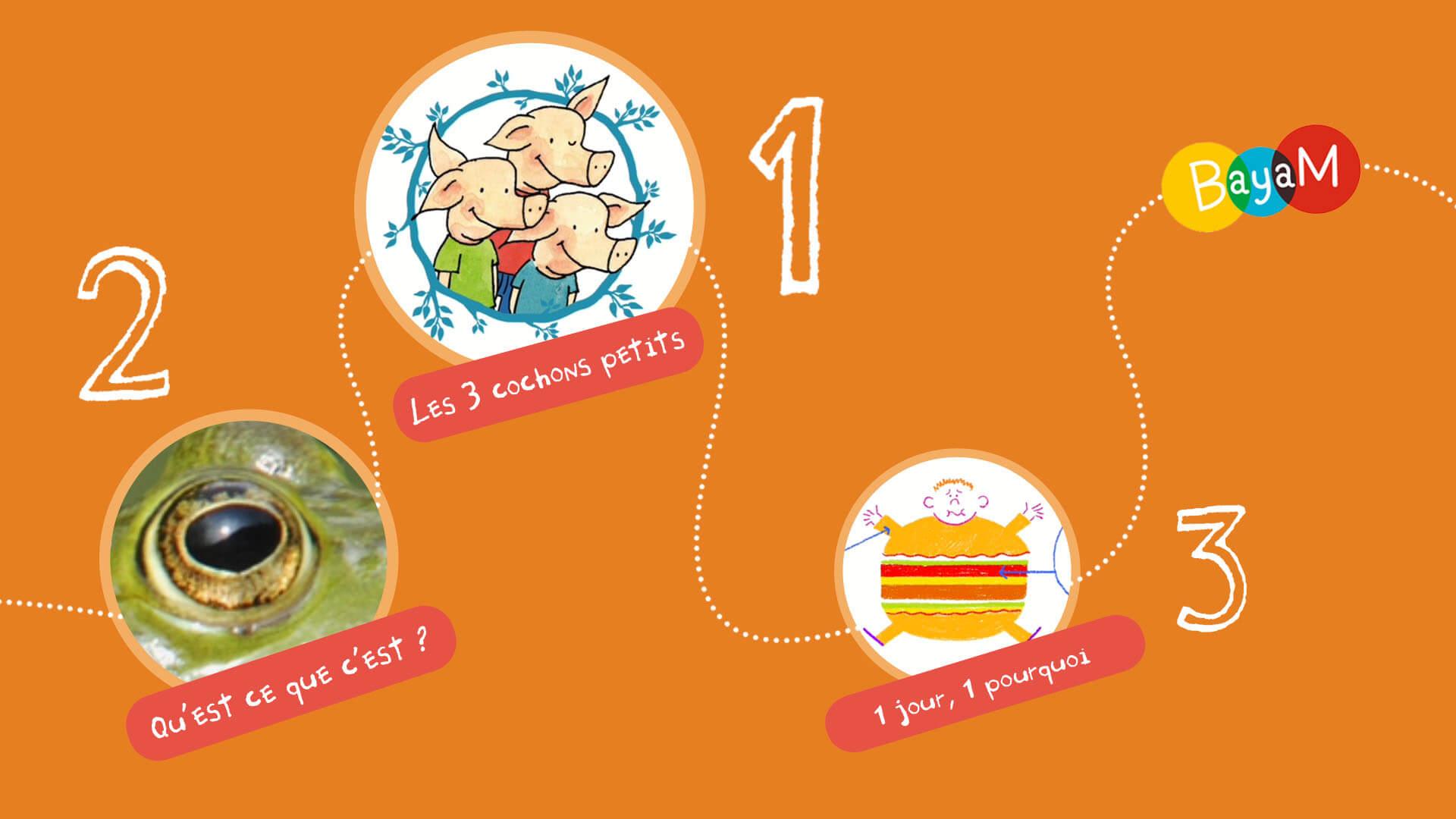 Les 3-5 Ans Nous Ont Fait Partager Leur Top 5 ! - Enfants concernant Jeu Interactif 3 Ans
