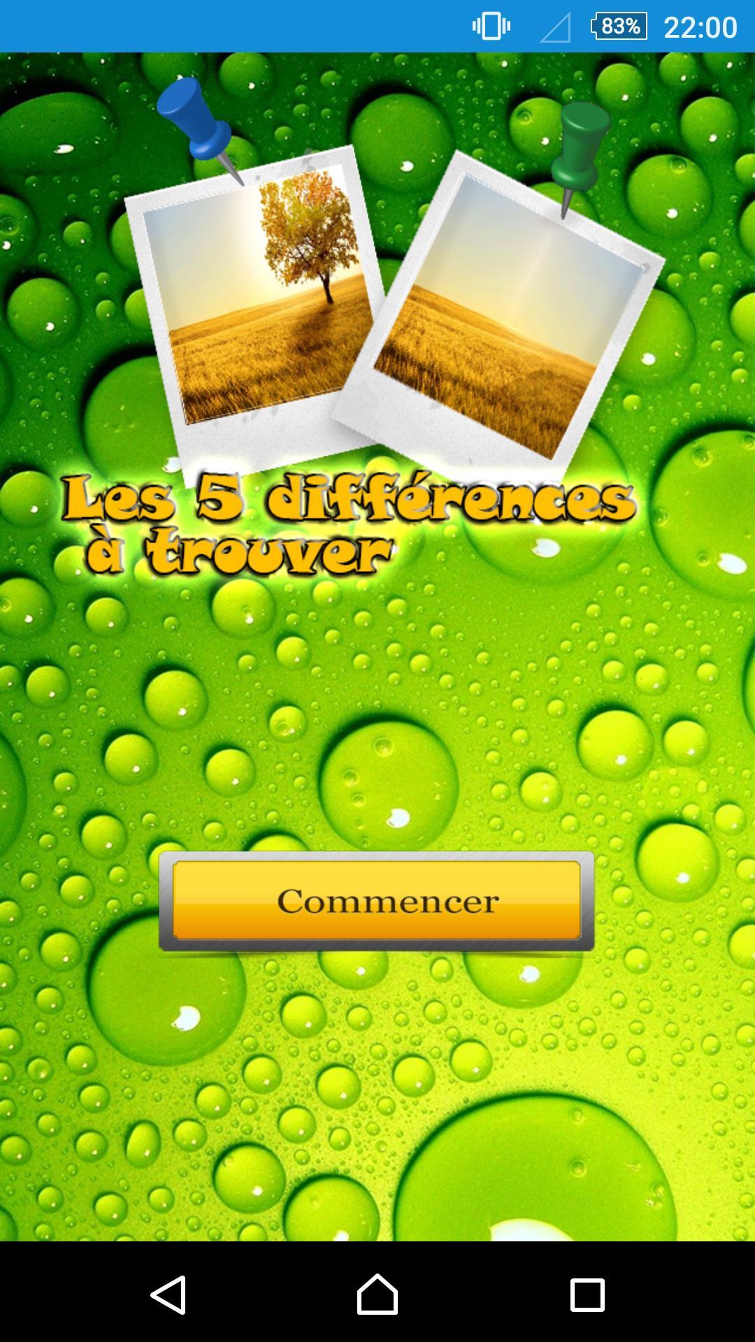 Les 5 Différences À Trouver For Android - Apk Download destiné Les 5 Differences