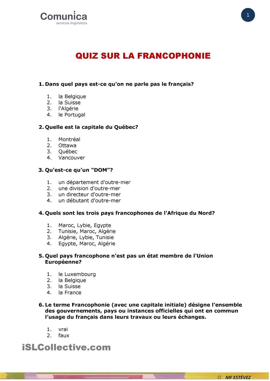 Les 57 Meilleures Images De Quiz | Quiz, Fle Et Le Figaro encequiconcerne Quizz Pour Maternelle