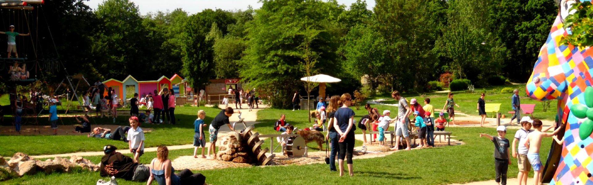 Les Aires De Jeux | Jardins De Brocéliande pour Jeux Ludique Pour Enfant