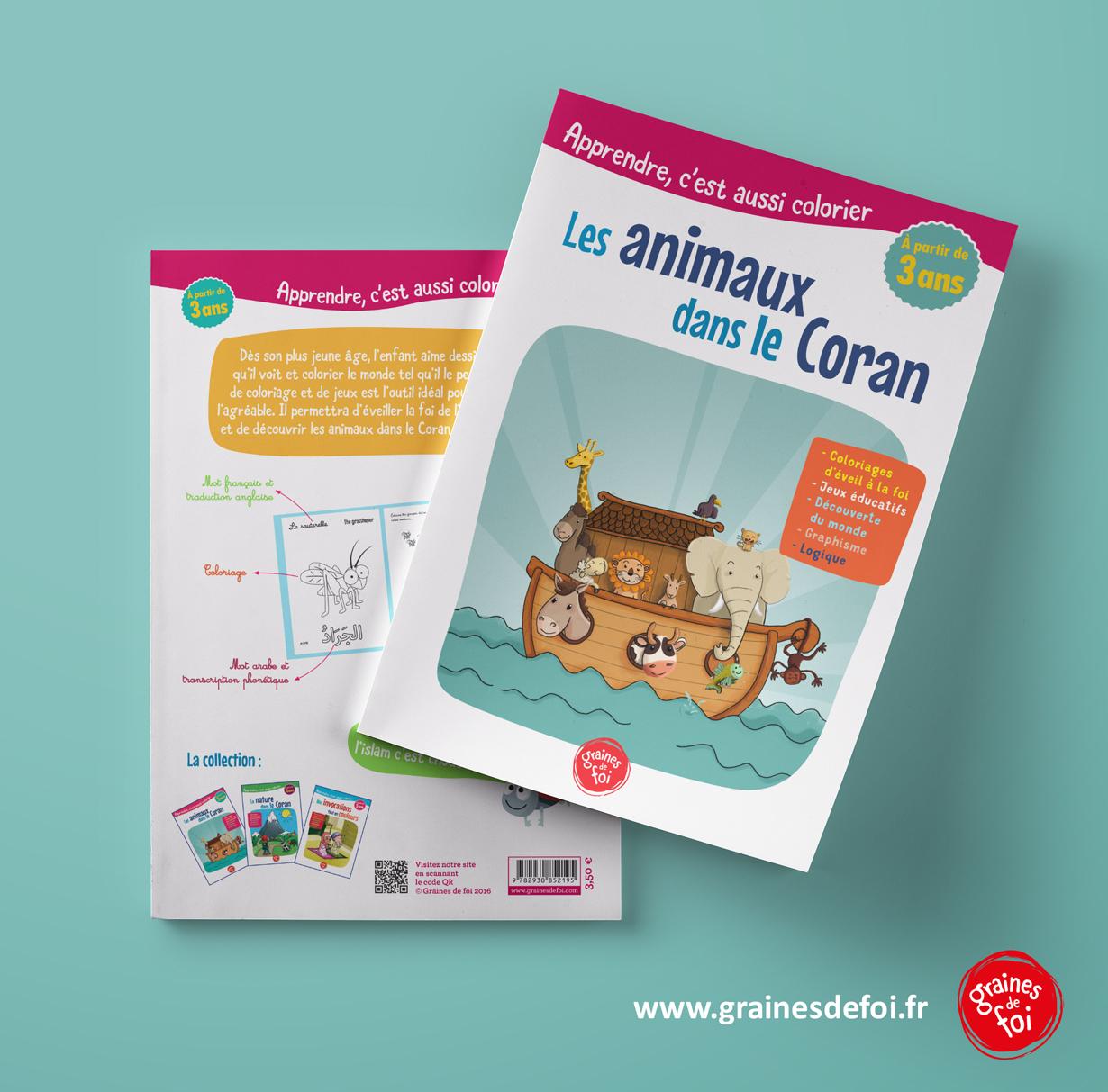 Les Animaux Dans Le Coran - Graines De Foi dedans Apprendre Les Animaux Jeux Éducatifs