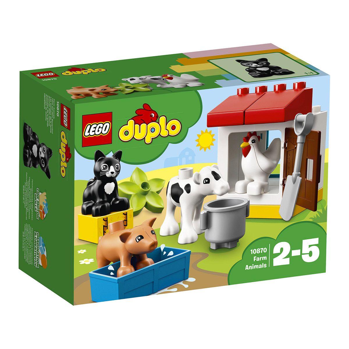 Les Animaux De La Ferme Lego Duplo 10870 - Jeux De à Jeux Les Animaux De La Ferme