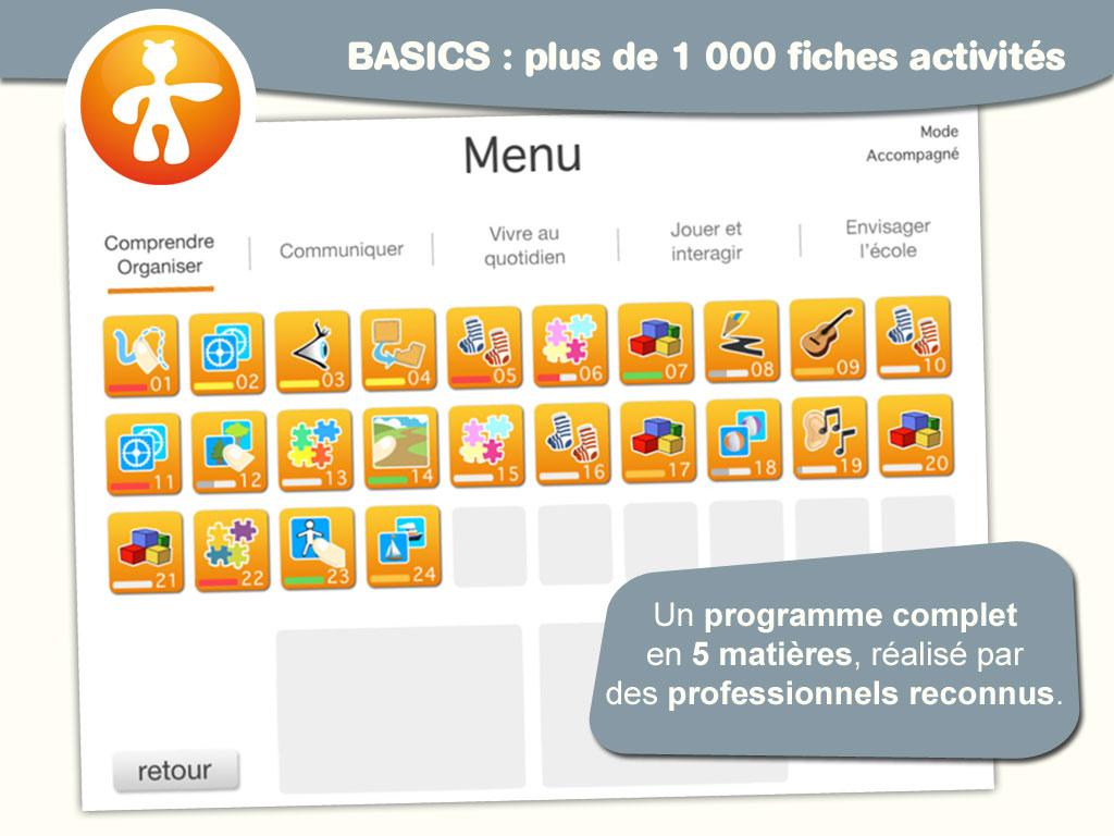 Les Applications Pour Tablettes - Autisme Formations En dedans Logiciel Éducatif En Ligne