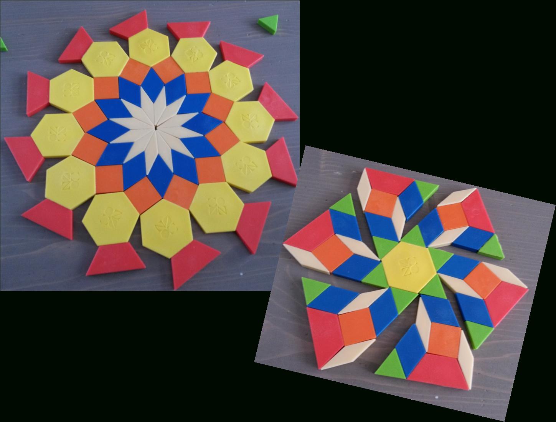 Les Attrimaths, Un Jeu De Créativité Et D'initiation À La pour Jeu De Forme Géométrique