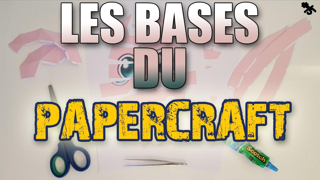 Les Bases Du Papercraft : Télécharger, Imprimer, Découper, Plier, Pepakura. concernant Découpage Gratuit À Imprimer