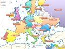 Les Capitales D'europe tout Carte Géographique De L Europe