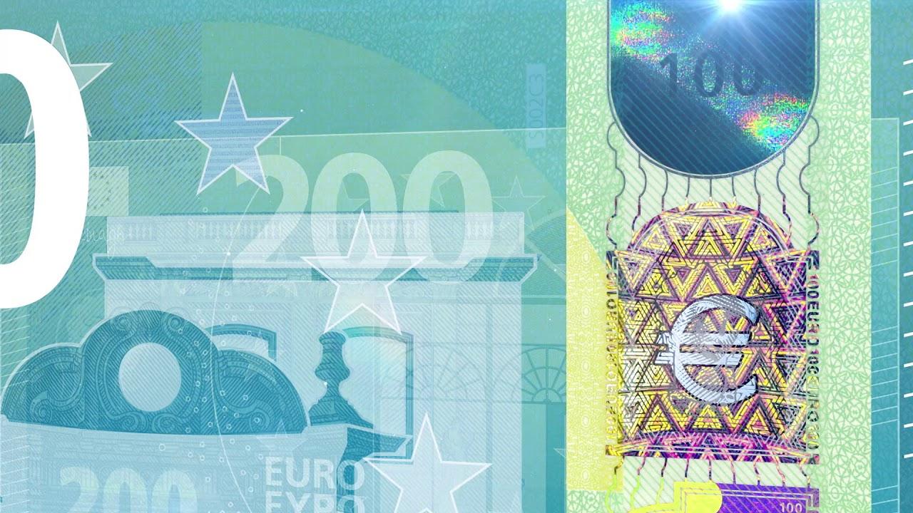 Les Caractéristiques Des Billets Et Des Pièces En Euro dedans Billet De 100 Euros À Imprimer