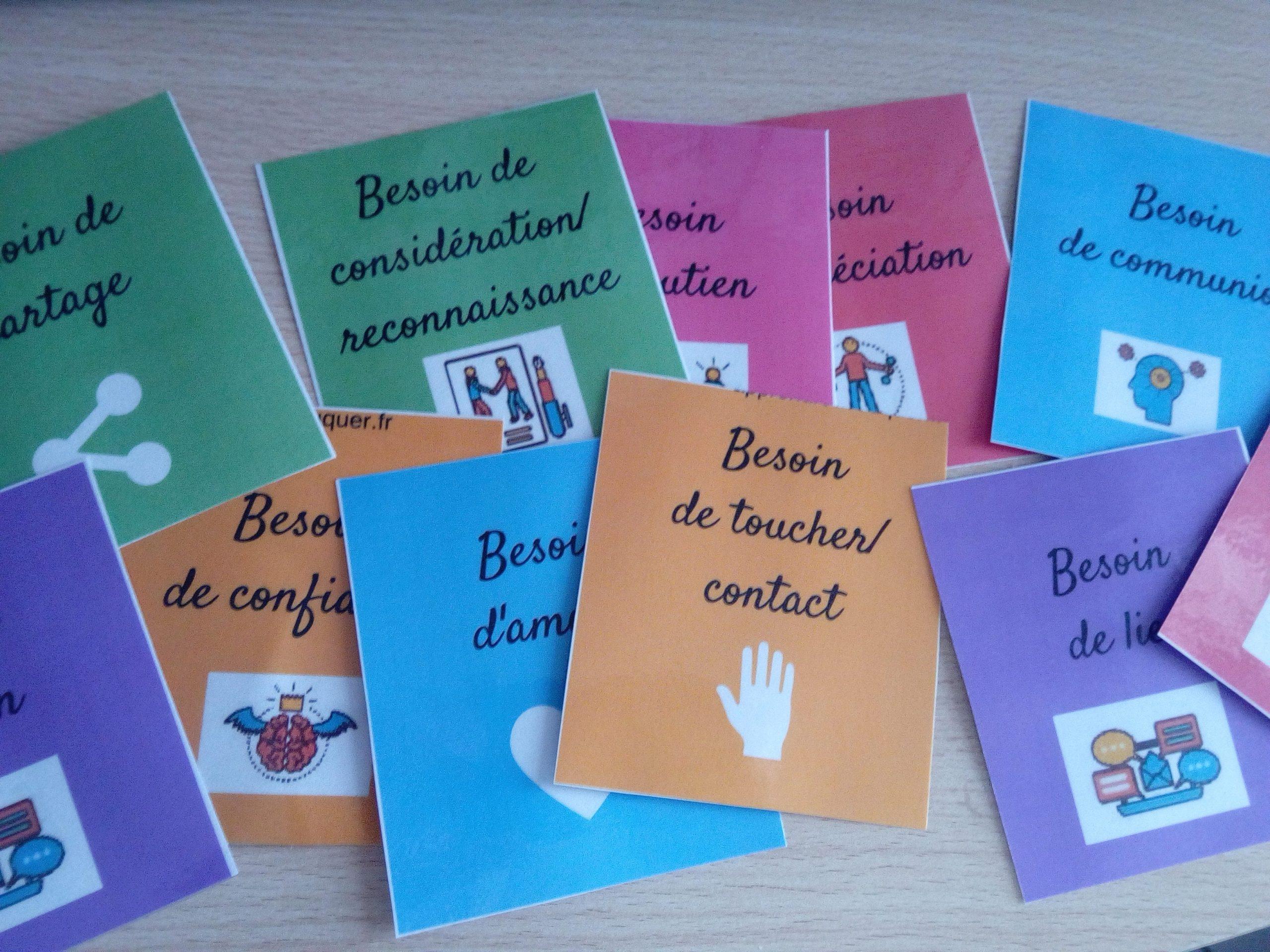 Les Cartes Des Besoins (Téléchargement Gratuit) : Un Outil destiné Jeux Gratuits Pour Enfants De 7 Ans