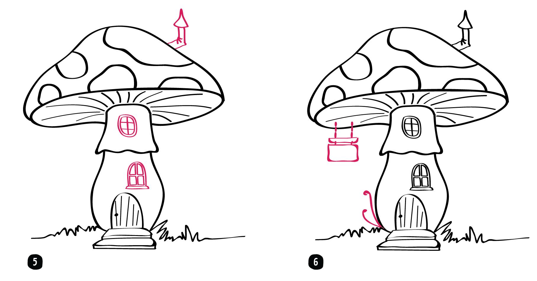 Les Champignons // Épisode 8 - Les Yeux Ronds dedans Dessiner Un Champignon