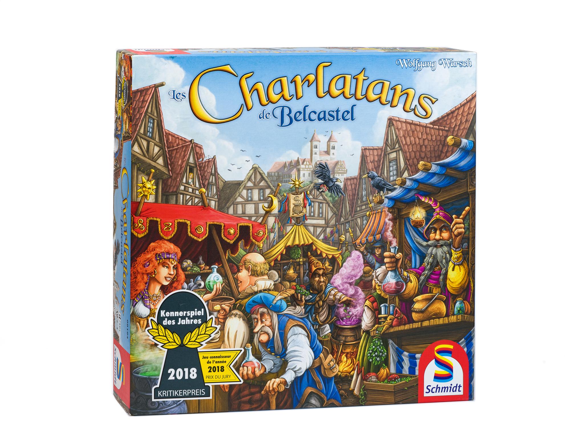 Les Charlatans De Belcastel | Protégez-Vous.ca encequiconcerne Jeux Societe Interactif