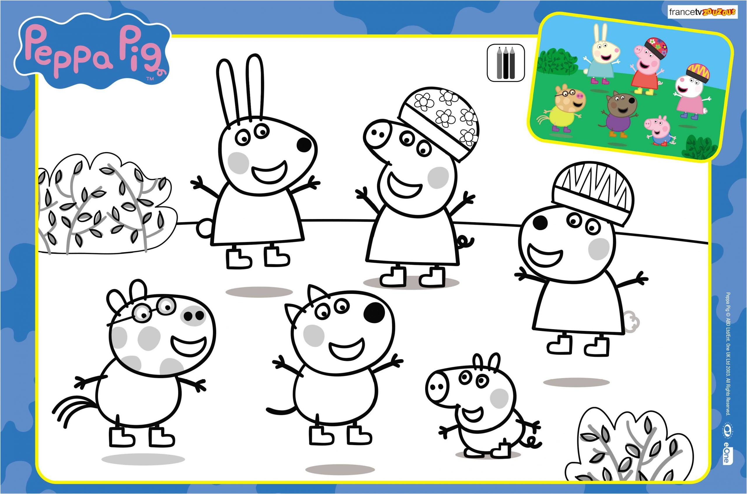 Les Coloriages De Peppa Pig #coloriagepeppa | Livre De tout Peppa Pig A Colorier