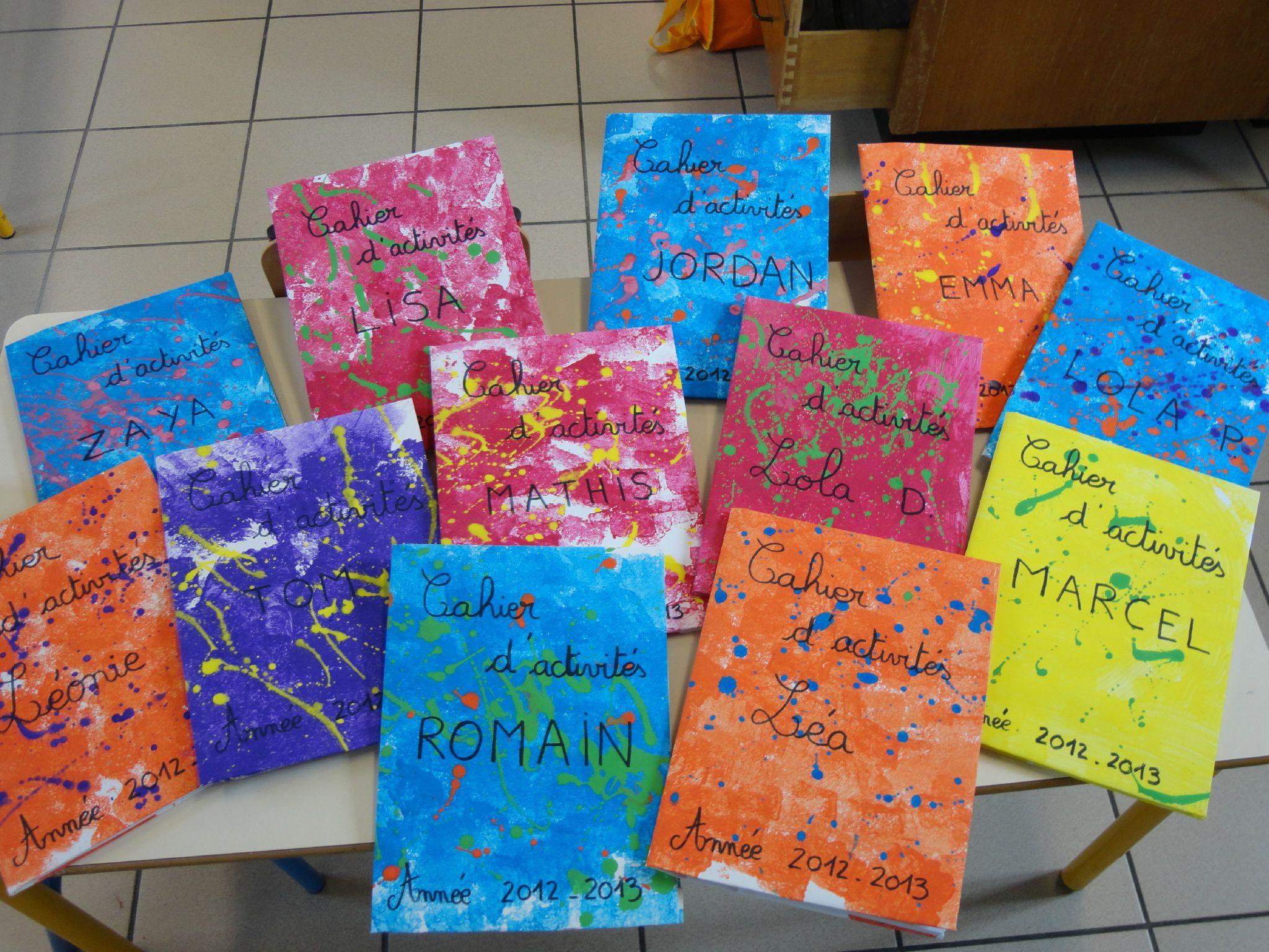 Les Couvertures Du Cahier D'activités Des Enfants De intérieur Cahier D Activité Maternelle