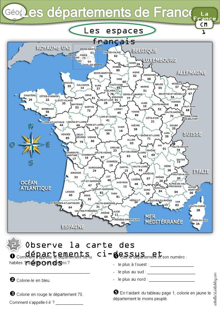 Les Départements De France - Ppt Video Online Télécharger destiné Tableau Des Départements Français