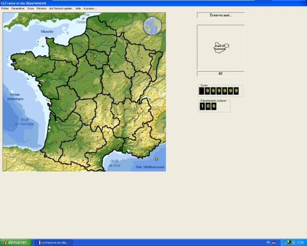Les Départements Français - Télécharger concernant Jeux Des Départements Français