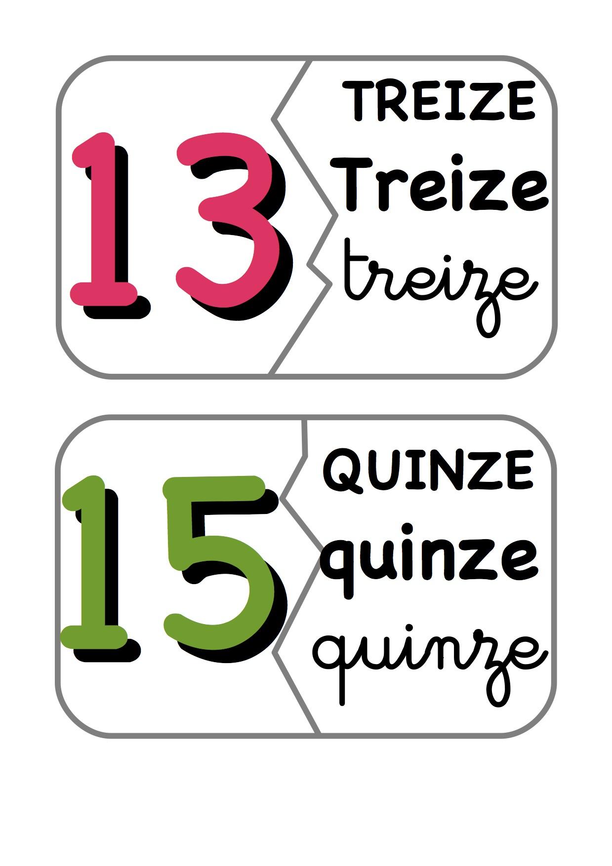 Les Dominos : Des Chiffres Et Des Lettres - La Classe De concernant Chiffre A Decouper