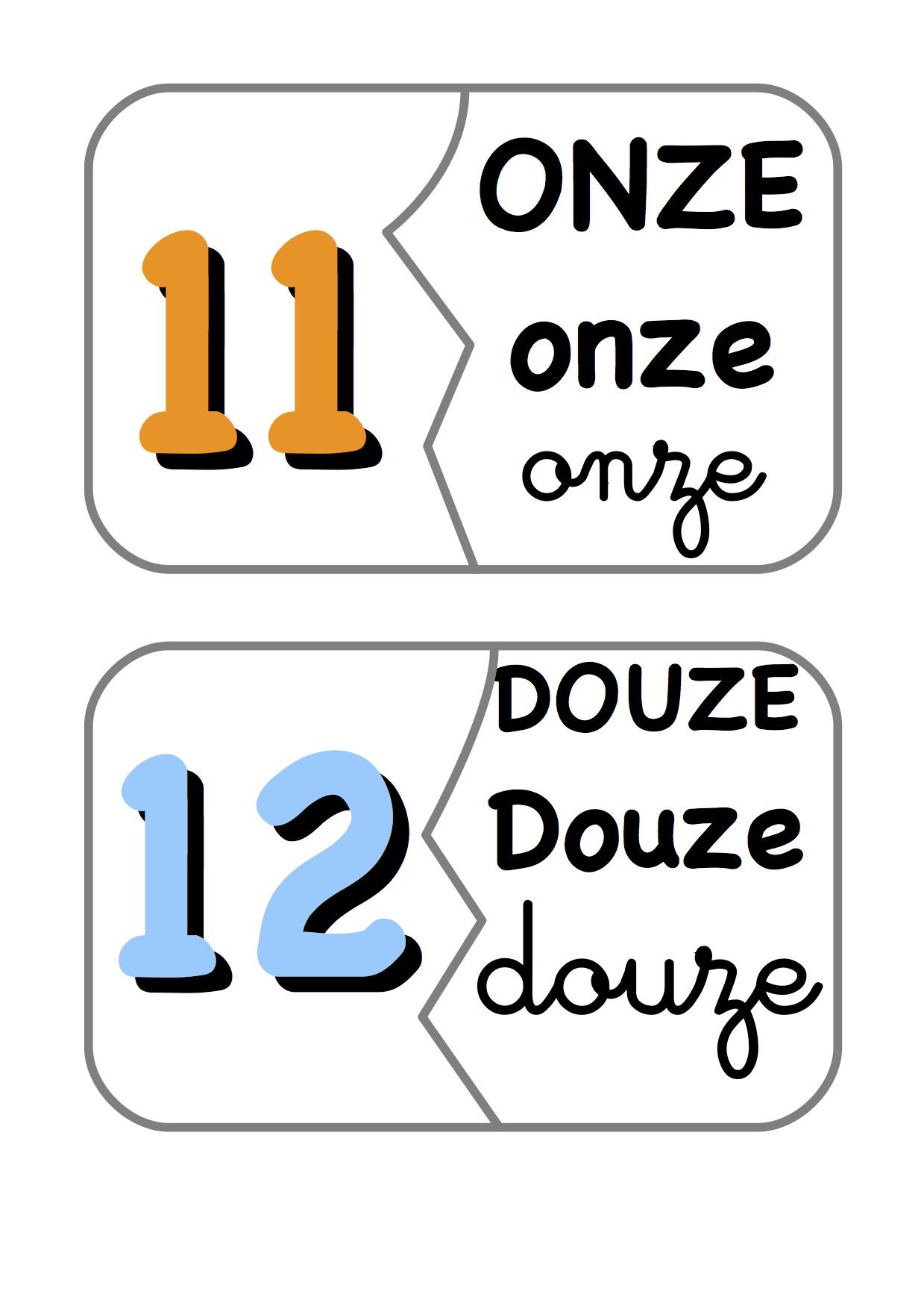 Les Dominos : Des Chiffres Et Des Lettres - La Classe De tout Etiquette Chiffre A Imprimer