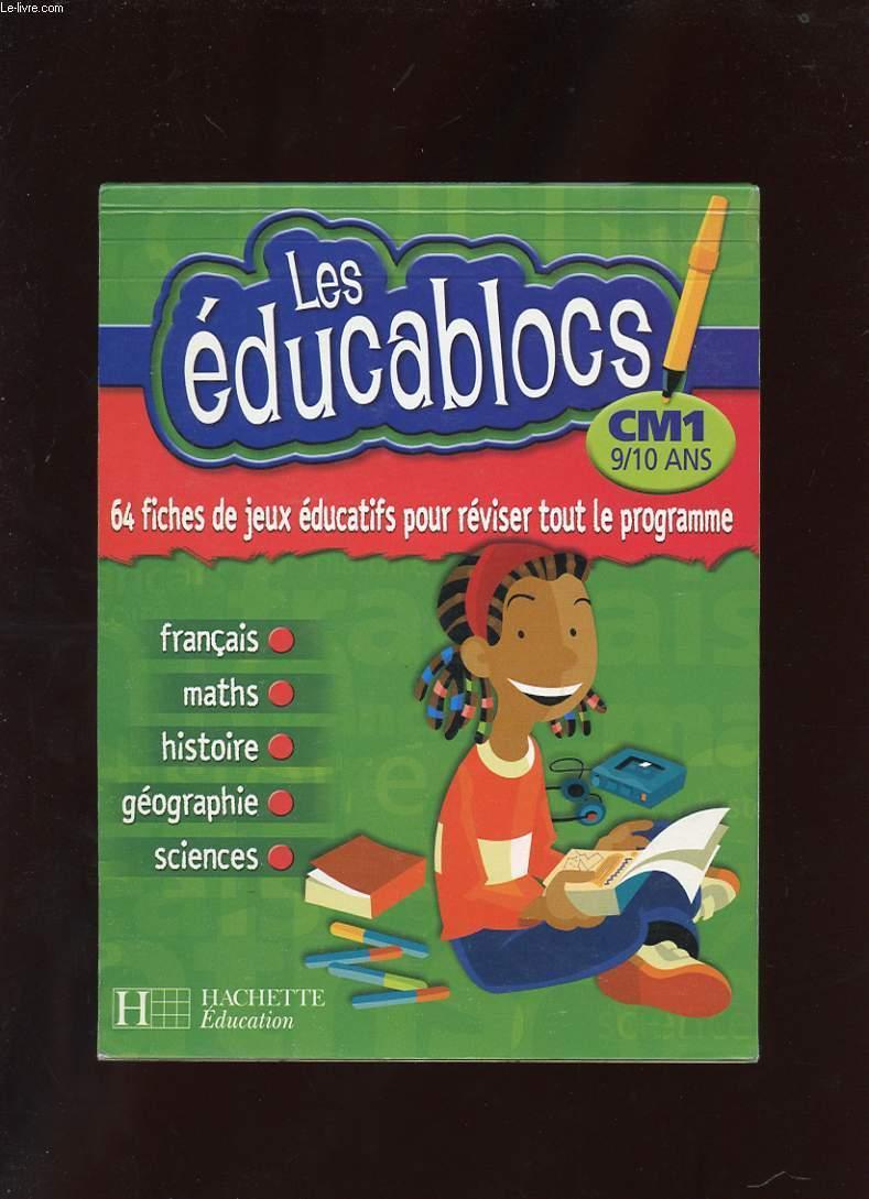 Les Educablocs. Cm1 9/10 Ans. 64 Fiches De dedans Jeux Educatif 9 Ans
