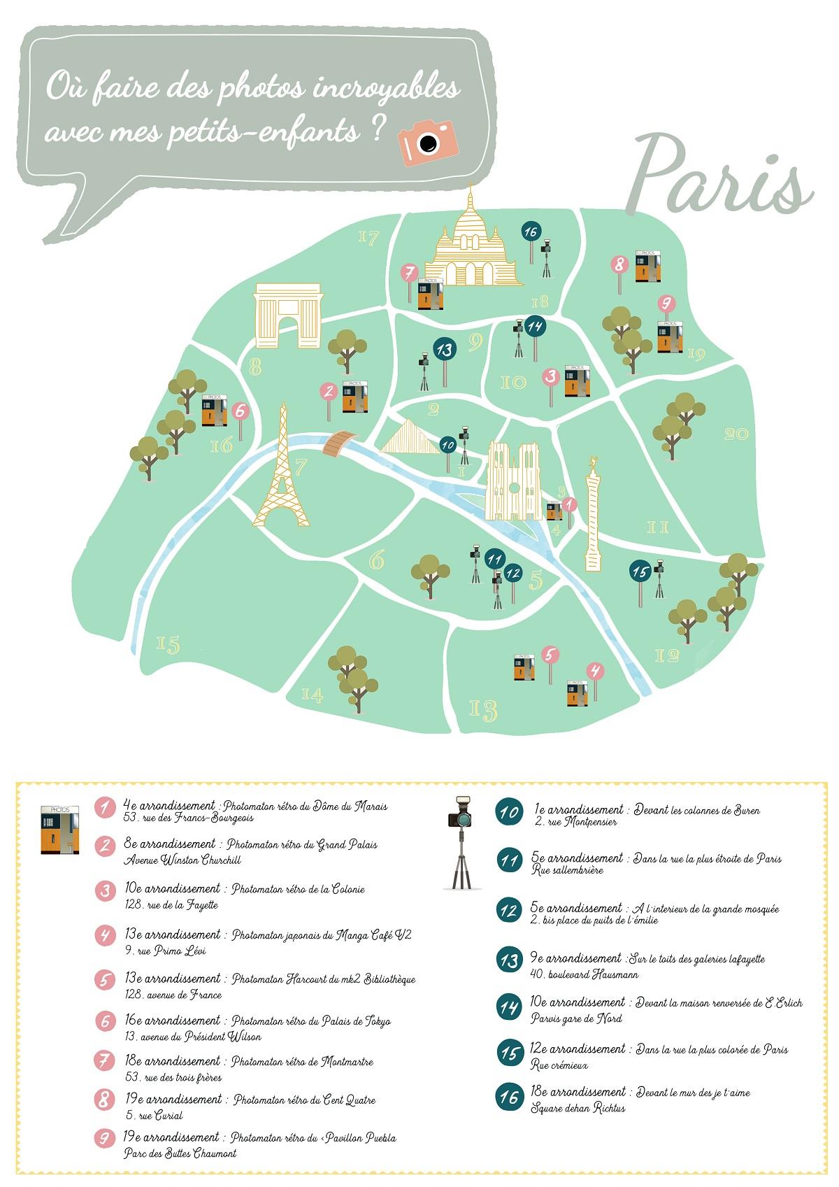 Les Endroits Les Plus Incroyables Pour Réaliser Des Photos ! serapportantà Carte De France Pour Les Enfants