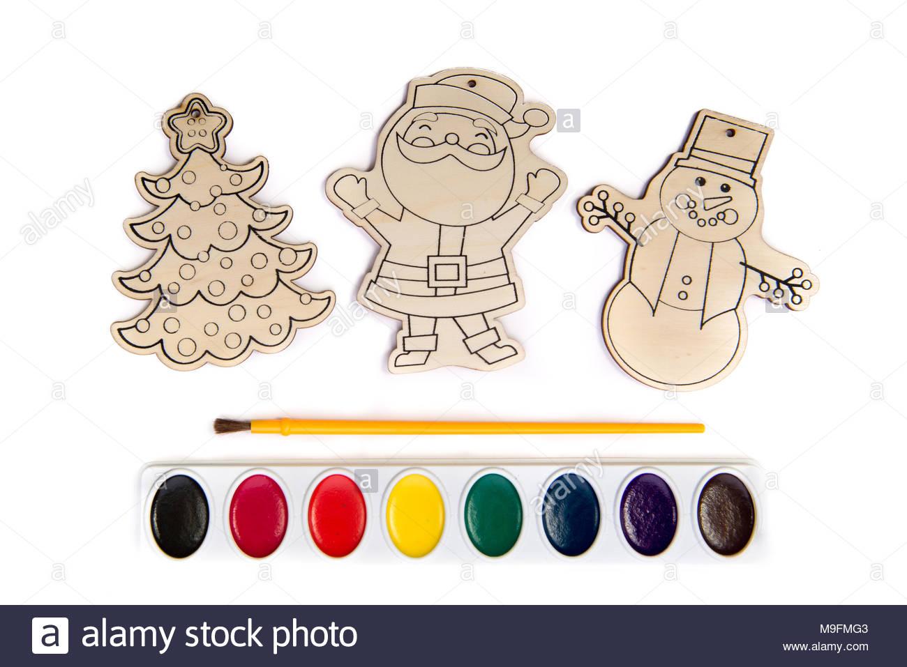 Les Formes D'artisanat En Bois Ou En Bois Découpé Dont Santa pour Bonhomme De Neige À Découper