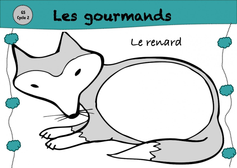 Les Gourmands - La Classe De Luccia ! à Jeux Educatif Gs