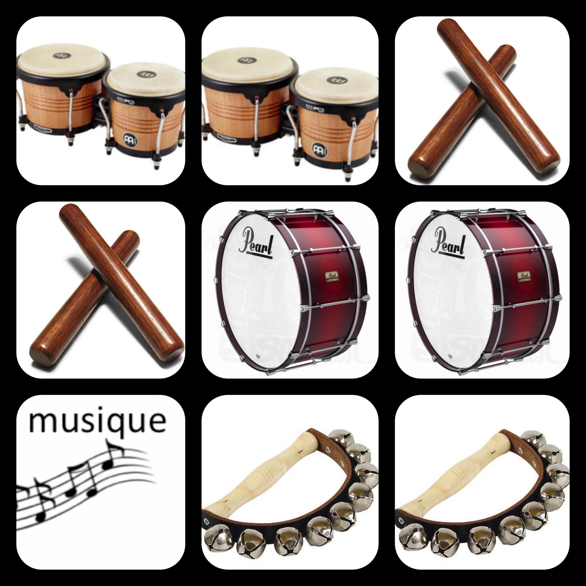 Les Instruments De Musique - La Maternelle De Vivi tout Image Instrument De Musique À Imprimer