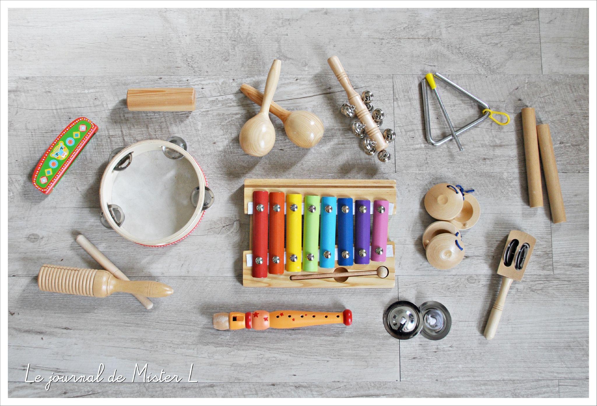 Les Instruments De Musique Pour Tout-Petit - Le Journal De intérieur Jeux En Ligne Pour Tout Petit