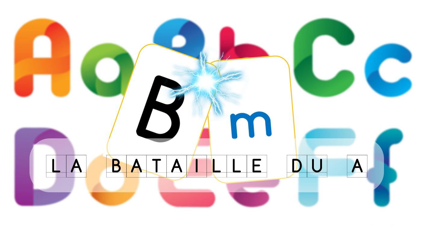 Les Jeux De Jean Noël : La Bataille Du A - Jeu De Cartes dedans Jeux Pour Apprendre L Alphabet