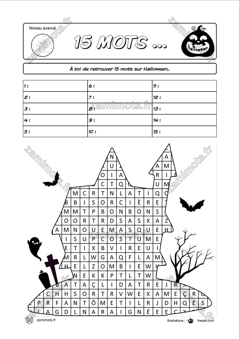 Les Jeux De Mots De Zamijeux Pour Apprendre En S'amusant. dedans Mots Croisés Ce1 À Imprimer