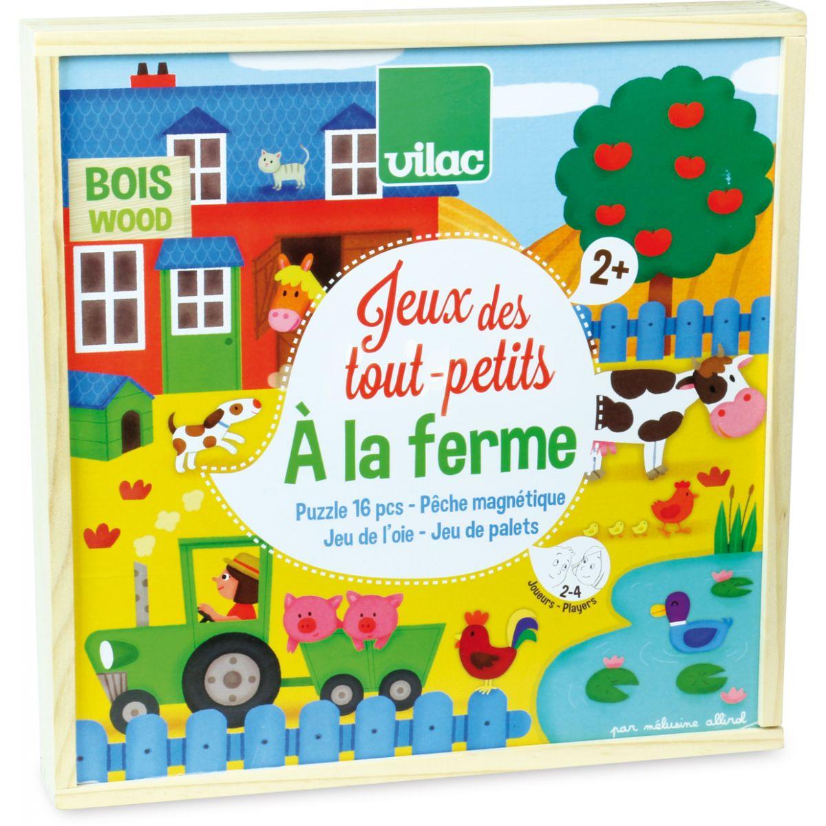 """Les Jeux Des Tout Petits """"à La Ferme"""" - À Partir De 2 Ans pour Jeux Educatif Pour Tout Petit Gratuit"""