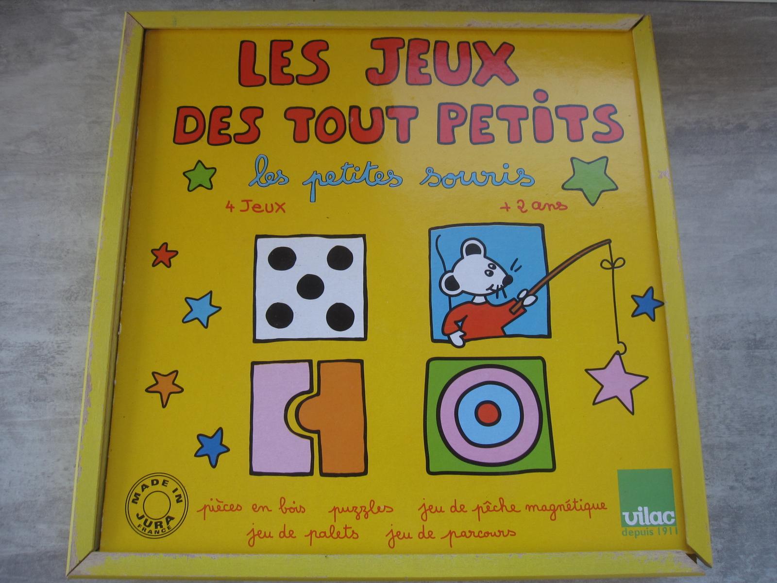 Les Jeux Des Tout Petits Vilac | Aukazoo destiné Jeux Tout Petit