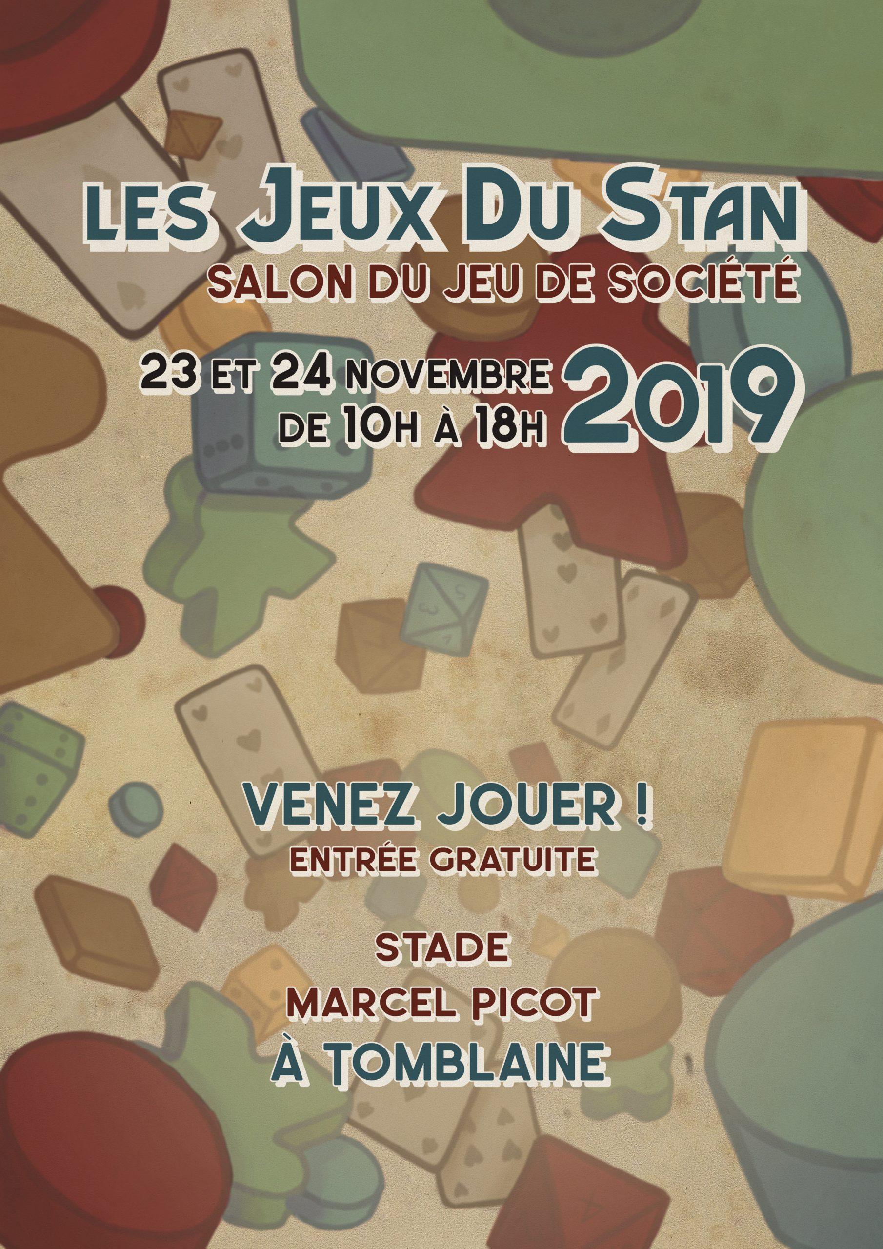 Les Jeux Du Stan – Festival De Jeux Gratuit Pour Toute La serapportantà Jeux Societe Gratuit