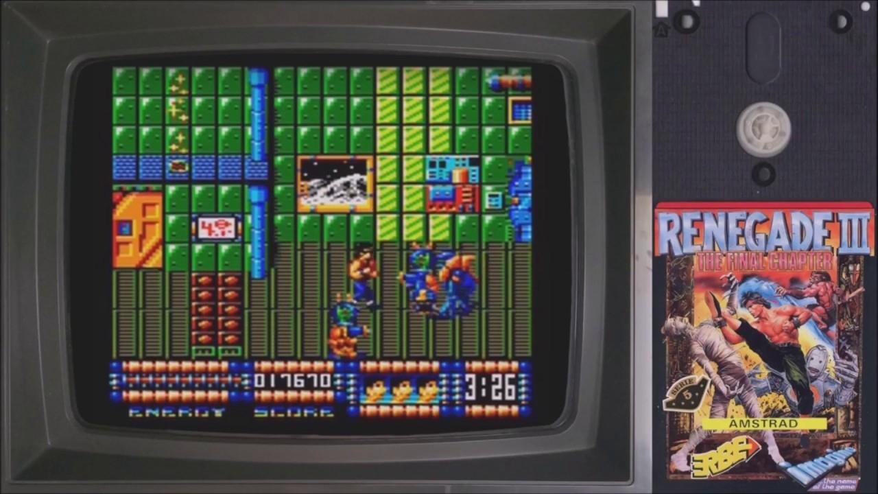 Les Jeux Vidéo Ratés #2: La Suite De Trop Avec Renegade 3 Sur Amstrad Cpc 👾 encequiconcerne Jeux 3 À La Suite