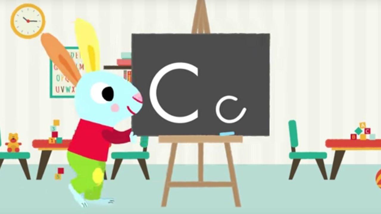 Les Lettres De L'alphabet - Apprendre À Écrire Le C Avec Pinpin Et Lili à Apprendre Les Lettres De L Alphabet