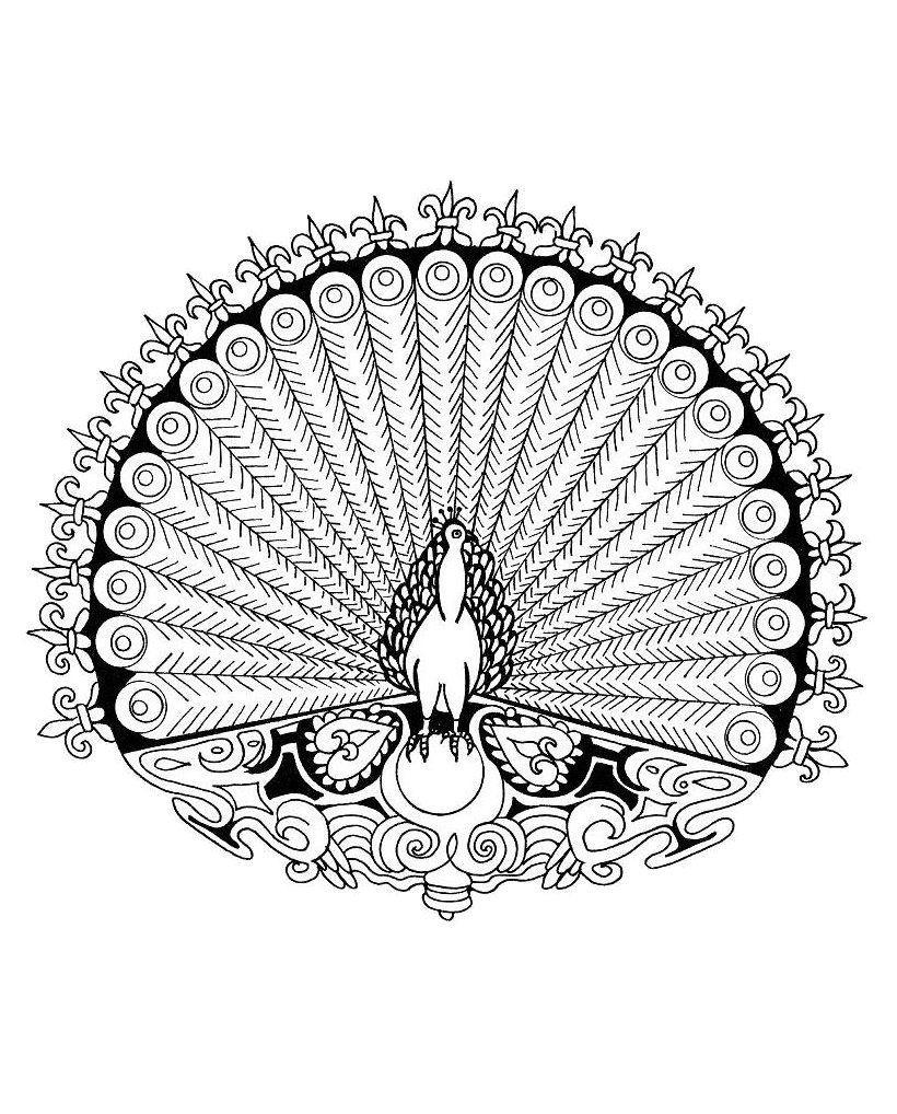 Les Mandalas D'animaux Le Monde Sauvage Est Très Riche. La serapportantà Tous Les Coloriages Du Monde